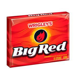 Chicle Big Red Wrigley´s