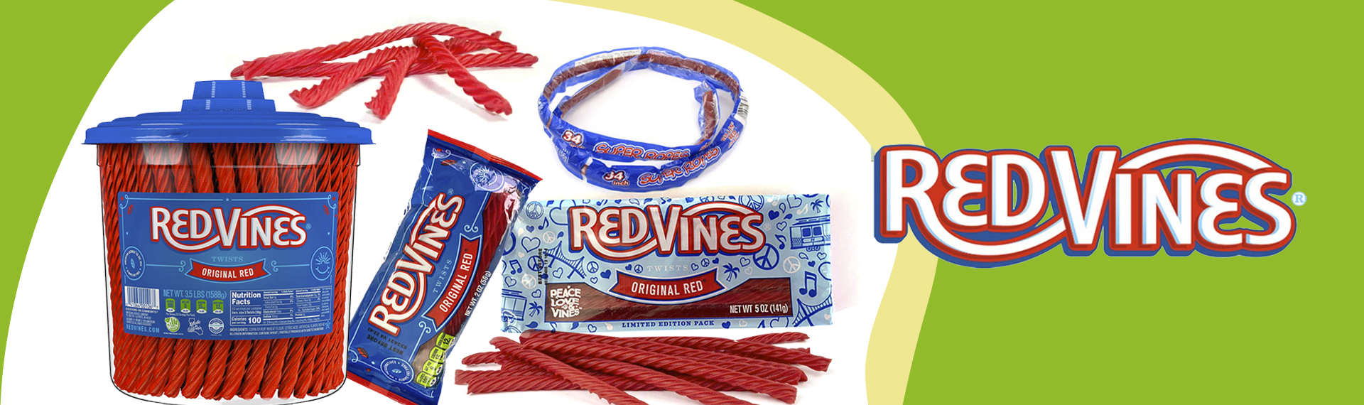 banner red vines mix